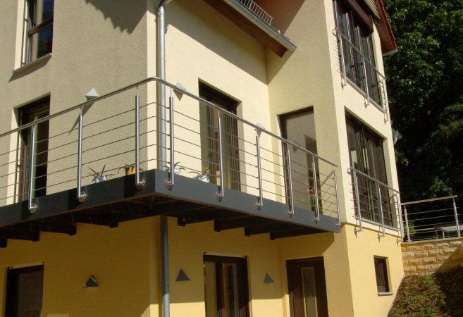 Treppen Und Gelander Aus Edelstahl Metallbau Reck Bei Bautzen In